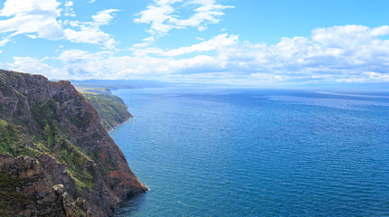 The north of the island of Olkhon is the coast of the Small Sea Bay of Lake Baikal. Russia
