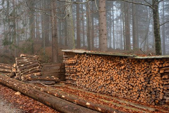 Holzlege
