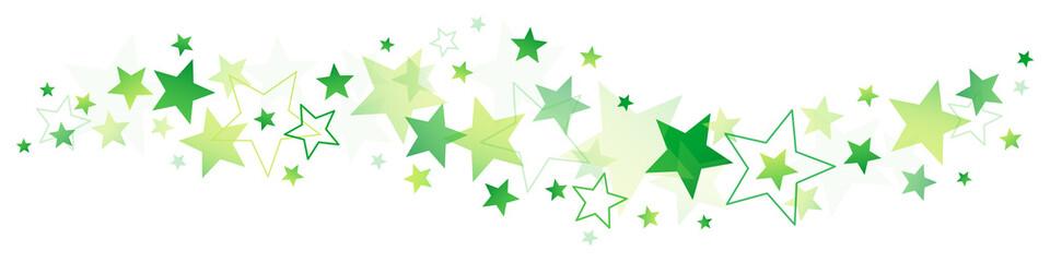 Green Stars Border