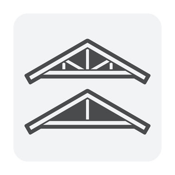 roof truss icon