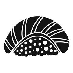Sake sushi icon. Simple illustration of sake sushi vector icon for web design isolated on white background