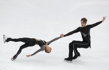 Figure Skating - ISU Grand Prix Rostelecom Cup 2018 - Pairs' Short Program