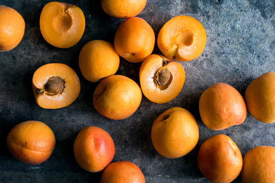 Close up of apricot