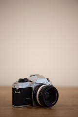 Analog camera photography depth of field