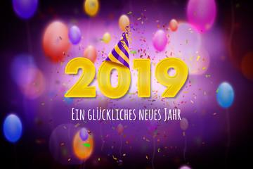 Ein glückliches neues Jahr 2019