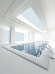 Interior private pool