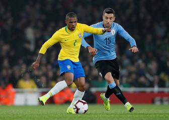 International Friendly - Brazil v Uruguay