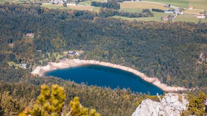 Beautiful alpine view at the Kathrin summit-Bad Ischl-Salzburg-Austria