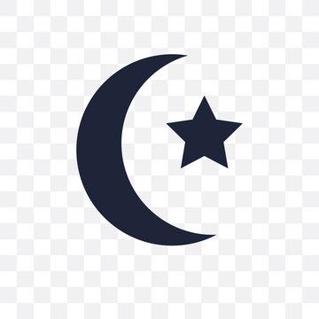 Islam transparent icon. Islam symbol design from Religion collection.