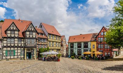 Schlossplatz in Quedlinburg