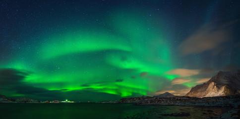 Ramberg Aurora Panorama