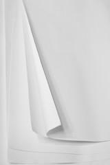 blank white drafting paper