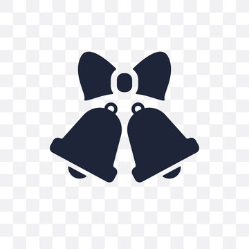 Wedding Bells transparent icon. Wedding Bells symbol design from Wedding and love collection.