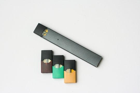 E-cigarette on white