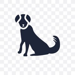 Berger Picard dog transparent icon. Berger Picard dog symbol design from Dogs collection.