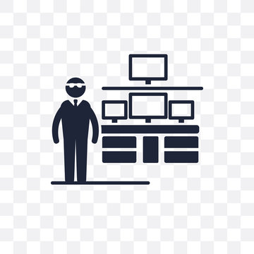 Information Security Analyst transparent icon. Information Security Analyst symbol design from Professions collection.