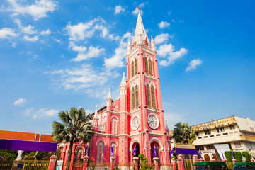 The Tan Dinh parish church