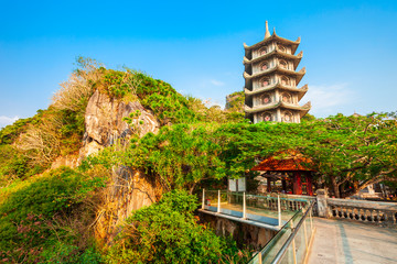 Pagoda at marble mountains, Danang