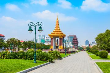 King Father Sihanouk monument, Phnom Penh