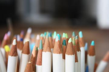色鉛筆 緑系