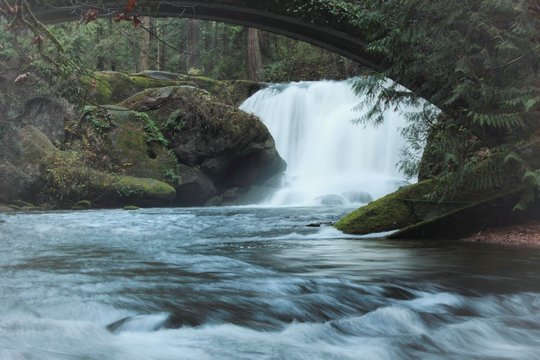 Whatcom Falls State Park Washington