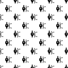 Vector paint pattern seamless vector repeat for any web design