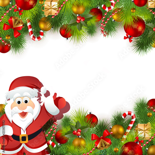 merry christmas happy new year background noel