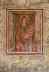 Virgin Mary Christian icon, Italy, Lombardy