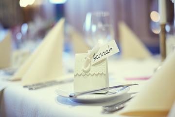 Hochzeit Feier Tischdeko