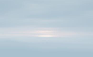 sky in light tonality