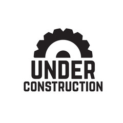 Under construction website background. Website construction blueprint