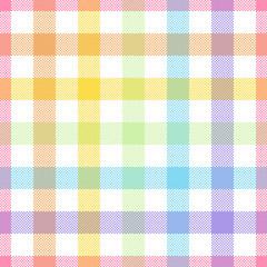 Rainbow, lgbt - seamless watercolor pattern.