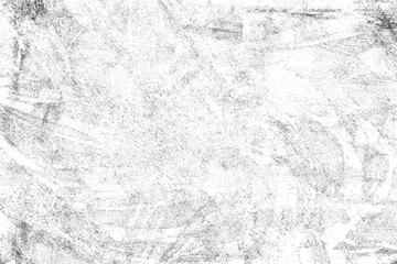 Abstract monochrome background. Texture is black and white in grunge style. Pattern of chips, cracks, scuffs, dust, stains