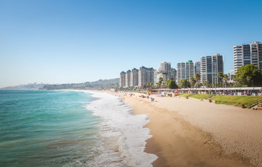 El Sol Beach - Vina del Mar, Chile