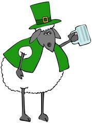 St. Patricks day sheep