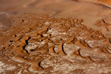 Luftaufnahme, Dünenlandschaft im Sossusvlei Nationalpark