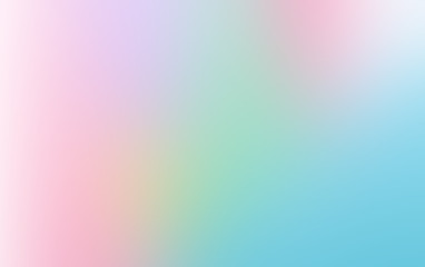 Abstract soft bright blurred gradient design background