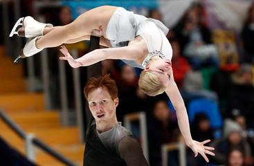 Figure Skating - ISU Grand Prix Rostelecom Cup 2018 - Pairs Free Skating
