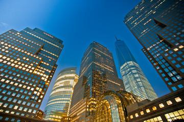 Buildings night view