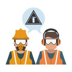 Construction worker avatar