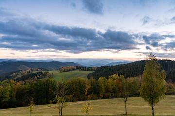 Fototapete - Herbst im Schwarzwald