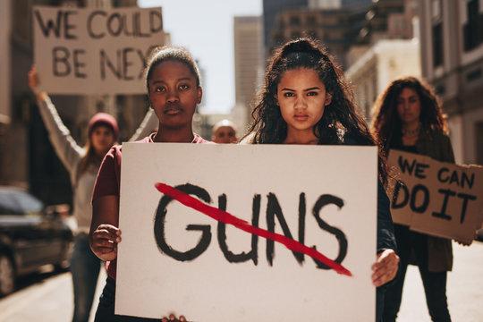 Say no to guns