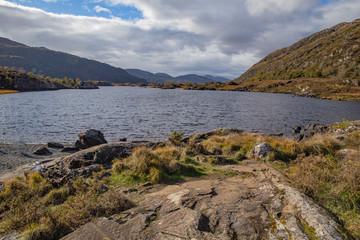 A lake in the Killarney National Park, Ireland