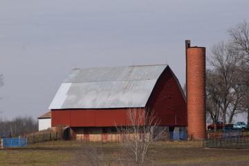 Barn and Silo