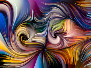 Inner Life of Fused Colors