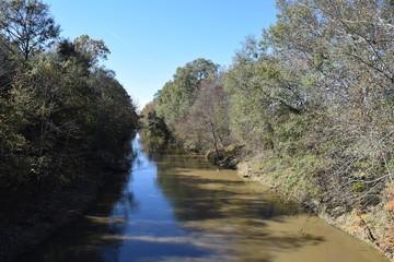 Yocona River in Lafayette County Mississippi