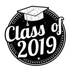 Class of 2019 stamp