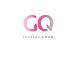 GQ Initial Logo for your startup venture