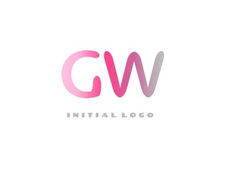 GW Initial Logo for your startup venture