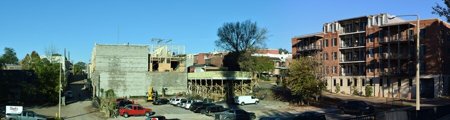 Construction in Oxford Mississippi